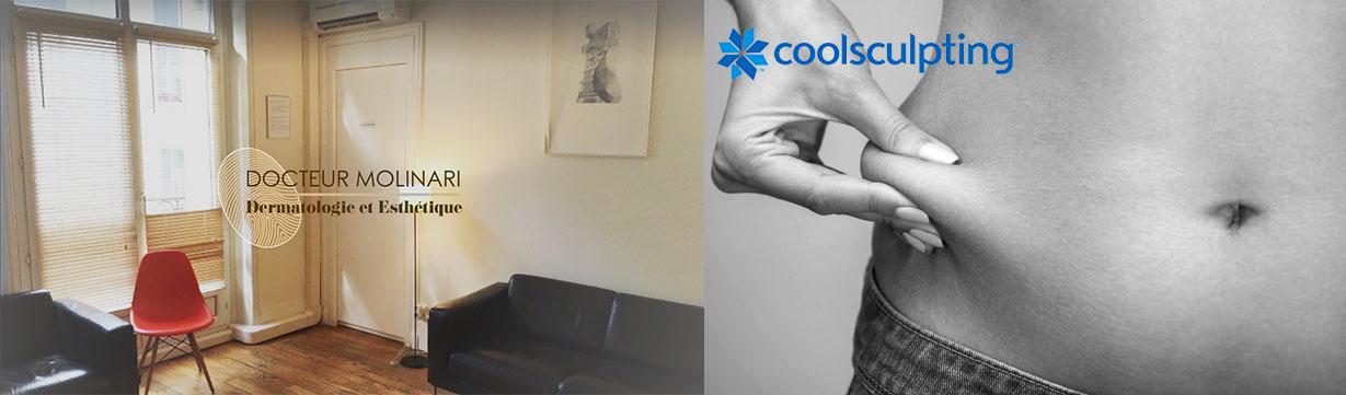 Cryolipolyse Coolsculpting - Dr Molinari